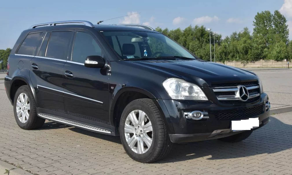 Mercedes-Benz GL цена в Германии 16700 евро