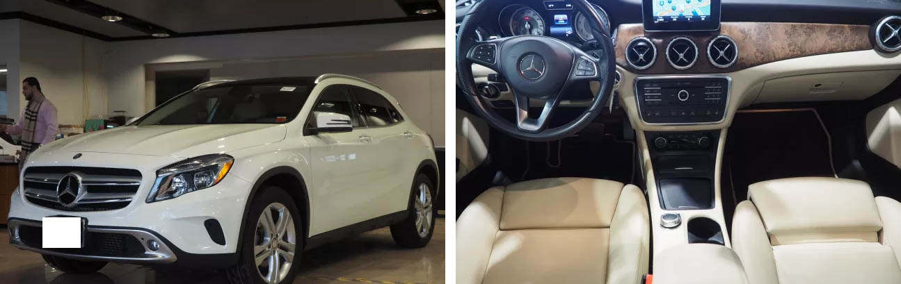 цена Mercedes-Benz GLA 250 в Нью-Йорке на аукционе